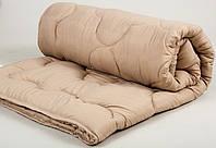 Одеяло 170*210 Lotus Comfort Wool кофейное двуспальное