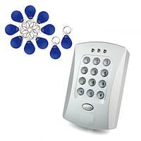 Двери контроллер доступа с 10 ЭМ ключей для двери система контроля доступа