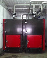 Котел твердотопливный КВТ-800 (800 кВт). Завод - изготовитель.