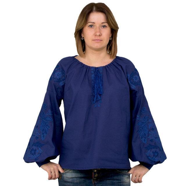 Вышиванка женская Синяя