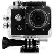 Экшн Камера A9, модель 2017г Новый аква бокс, HD, 12Mpx, 1080p