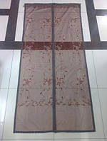 Москитная сетка(штора)на дверь с магнитами №903=90*210см, фото 1