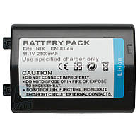 Аккумулятор для фотоаппарата Nikon EN-EL4A, 2800 mAh.