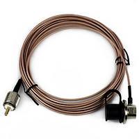 Нагоя кабеля RG-316 5м УВЧ кабель для рации антенна розовый