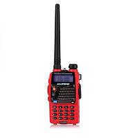 Баофэн УФ-5ra красный двухдиапазонный портативный приемопередатчик радио рации