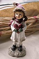 Декоративная статуэтка Девочка с сердцем