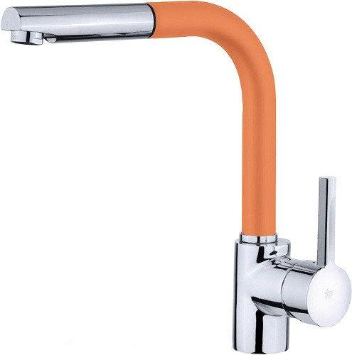 Смеситель TEKA ARK 938 FA (ORANGE) оранжевый