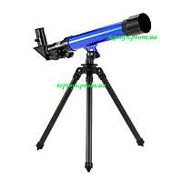 Телескоп детский со штативом, приближение 20х, 30х, 40х