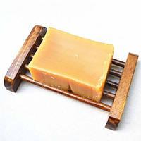 Обугленный деревянный ящик из-под мыла ЭКО-мыльница