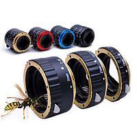 Красочные металлические AF макрос удлинитель кольцо для Canon EOS и объективов EF от EF-S в