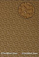 "Набоечная резина ""STRONG""  380ммх570мм, толщина 6,2мм, цв. хаки"