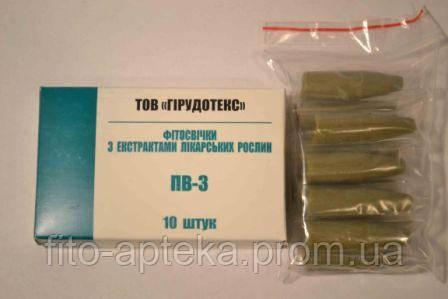 Свечи ПВ-3 (мумие)