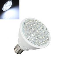 E14 1.5W Чистый белый 38 LED Энергосберегающий Spotlightt Лампа Bulb 110-240V