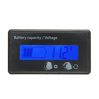 12V 24V 36V 48V LCD Вольтметр свинцово-кислотный Батарея Состояние Монитор Измеритель для мотоцикл Авто Лодка