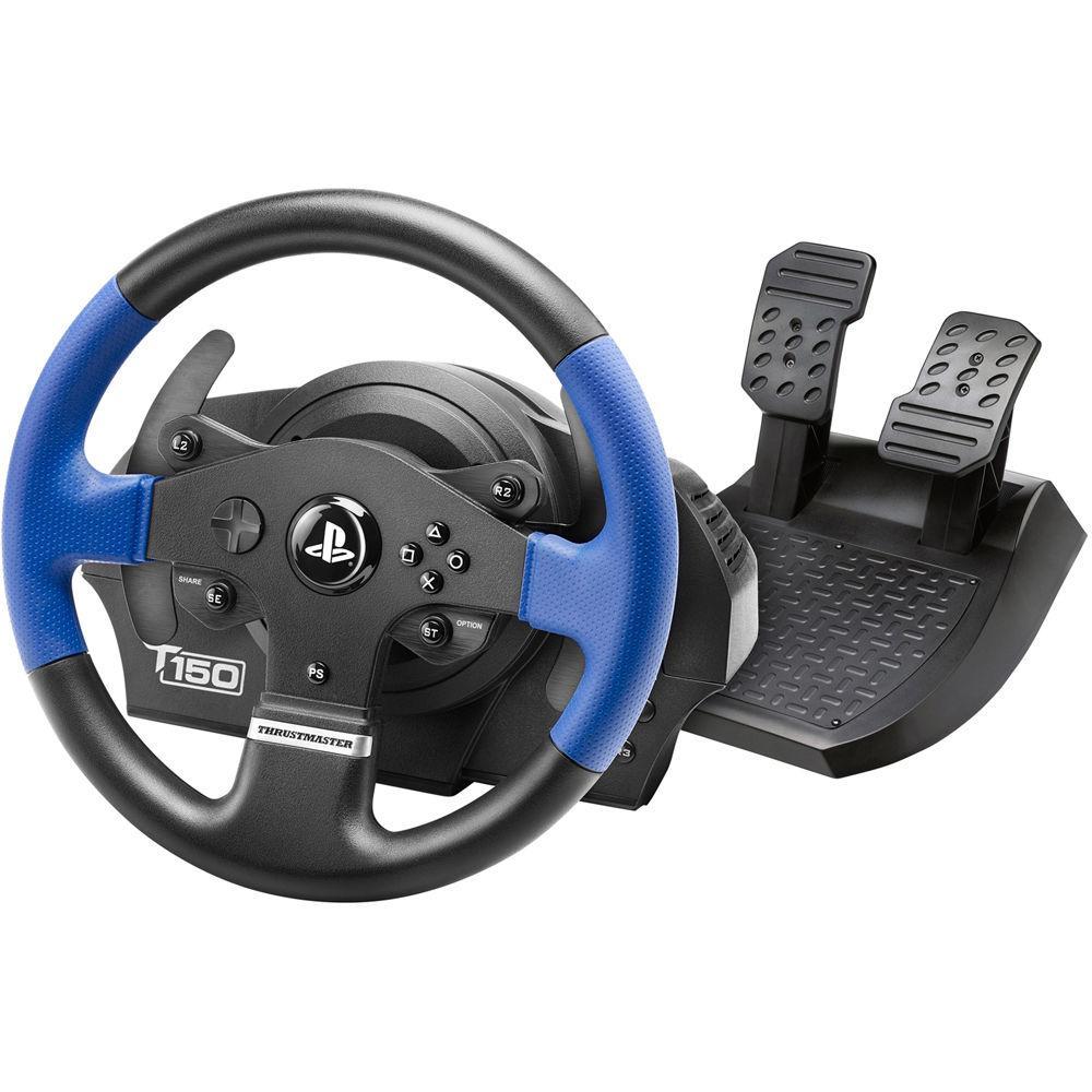 Игровой руль Thrustmaster T150 Force Feedback Official Sony licensed PC/PS4 Black (4160628)