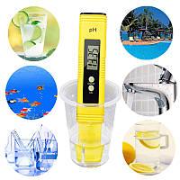 Automatic Protable LCD Цифровой измеритель PH Ручка калибровки точности воды тестера Аквариум Бассейн