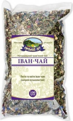 """Иван-чай (цветки и листья) листовой ТМ """"Гірський луг"""""""