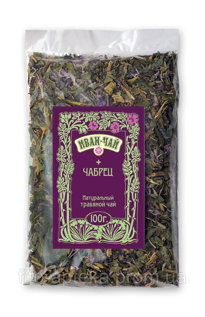 Иван-чай с чабрецом 100грамм