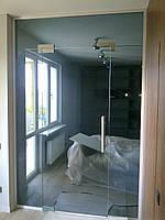 Межкомнатные двери из тонированого стекла. Киев, цены