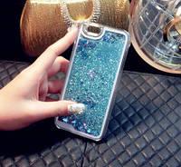 Чехол Liquid Glitter Series 2 IPHONE 7/8 (Blue), фото 1