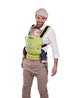 """Эргономичный рюкзак-переноска для детей """"ЕСО"""" Womar бежевый"""
