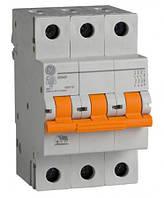 Автоматический выключатель 3р 10А General Electric серия DMS 6кА