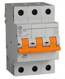 Автоматический выключатель 3р 32А General Electric серия DMS 6кА