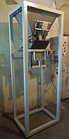 Дозатор весовой бункерный для фасовки топливных гранул, сахара, стройматериалов в мешки.