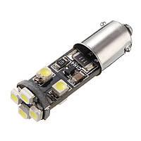 8SMD BAX9s 150 градусов 6000K автомобильная панель приборов Лампа Черная панель White DC12V