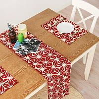 Honana WX-XY2 Скандинавская американская прямоугольная Чай Настольная скатерть стола Современные столовые флаги Красный рождественский лаком