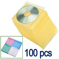 100 x кнопка Clear чехол для хранения сумка держатель пластиковых пакетов