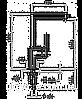 Смеситель TEKA EXSPRESSION H хром, фото 2