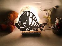 """Соляная лампа """"Рыбка"""", фото 1"""