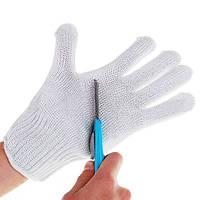 1 пара ножей срезанных Устойчивые Защитные перчатки Белый резки и разделки инструмент защиты рук