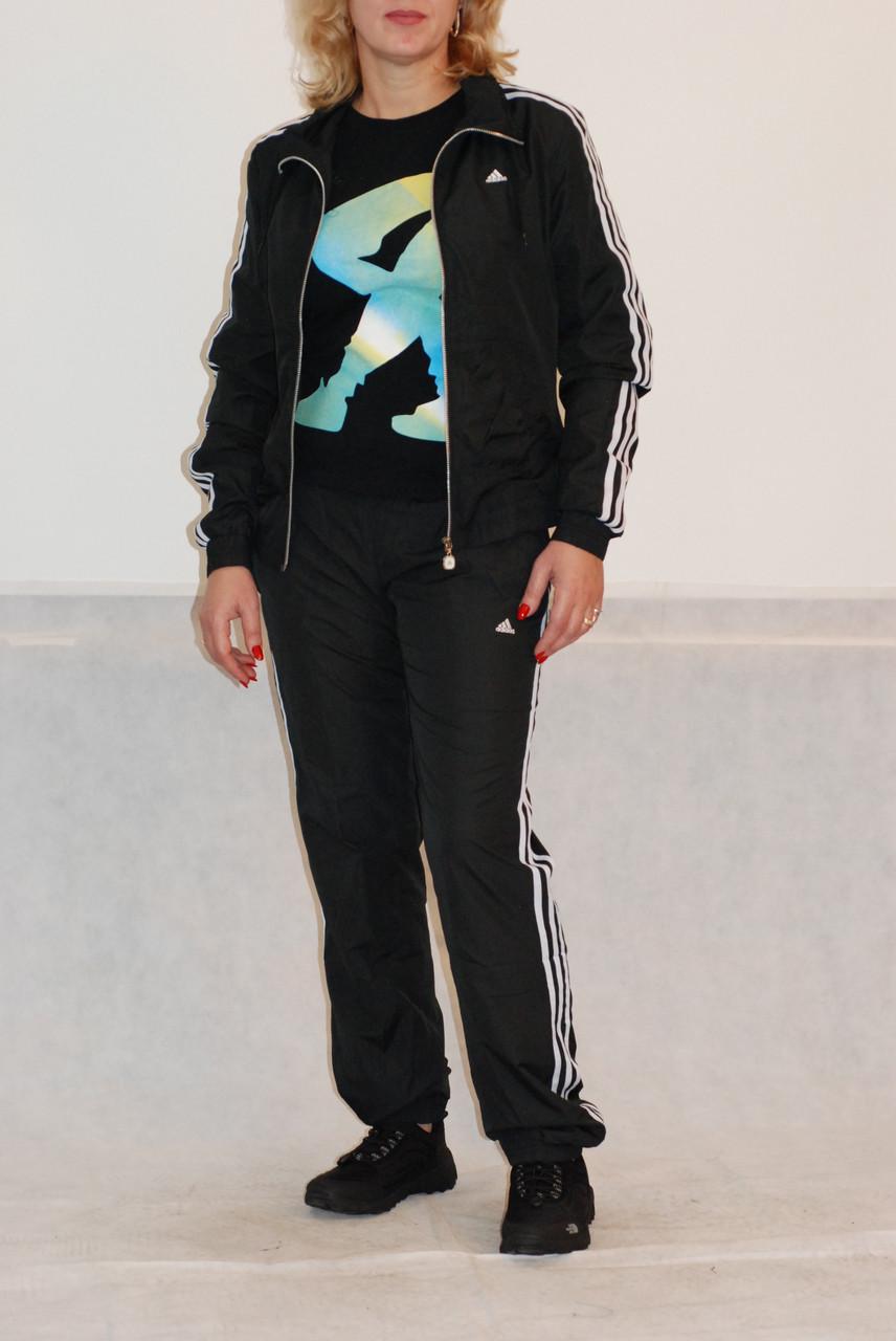 Женский спортивный костюм Adidas черный (8189) код 919А - СПОРТ-СИТИ в  Северодонецке e65c8bd2c30