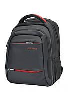 Городской ортопедический рюкзак черный 33L