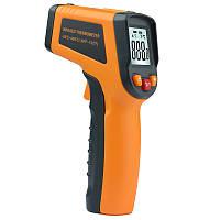 MT380 Лазер Цифровой инфракрасный бесконтактный -50 ~ 400 ℃ Термометр Температурный тестер ℃ / ℉ - 1TopShop