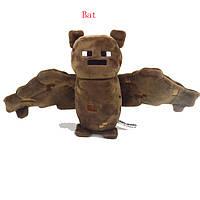 Cимпатичная мягкая плюшевая игрушка Minecraft Летучая Мышь19 см