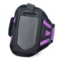 Черный и фиолетовый моды спорта повязка для iphone 3g 4