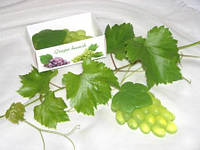 """""""Гроздь винограда"""" натуральное подарочное мыло ручной работы"""