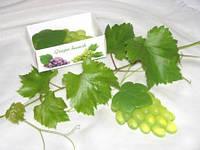 """""""Гроздь зеленого винограда"""" натуральное подарочное мыло ручной работы"""