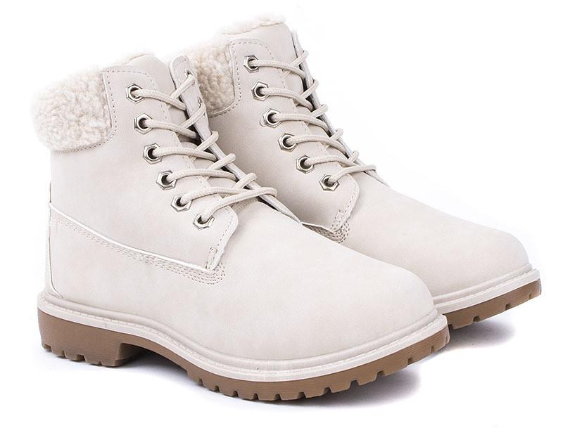 Женские ботинки Delgiudice BEŻOWE