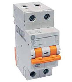 Автоматический выключатель 2р 16А General Electric серия DMS 6кА, фото 2