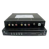 DVD-плеер автомобиля с DivX / AVI / DVD / VCD / MP3 / CD, построенного в SD / USB порт