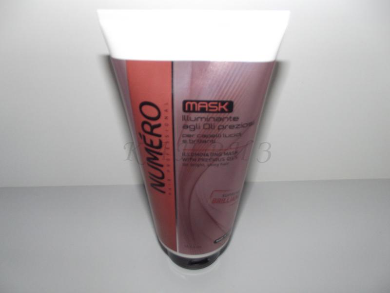 Маска для волос для блеска Illuminante Mask Numero 300 мл