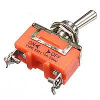 10шт 15а 250В 2-контактный тумблер ON-OFF переключатель ep98 1021 фиксации терминала