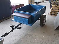 Прицеп к мотоблоку под жигулевскую ступицу  (1,15 х 1,40, без покрышек и колес)