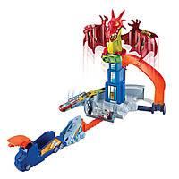 Трек Хот Вилс Атака Дракона Hot Wheels Dragon Blast Playset