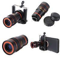 8-кратный оптический оптический Объектив для телескопа с мобильным телефоном - 1TopShop
