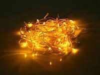 Гирлянда LED неон Желтый 200 лампочек - 16 метров